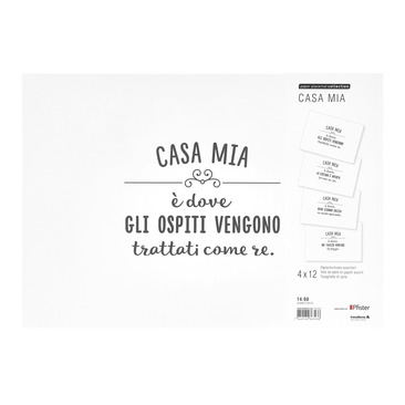 set da tavolo di carta HOME16