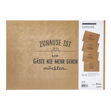 Papiertischset HOME16
