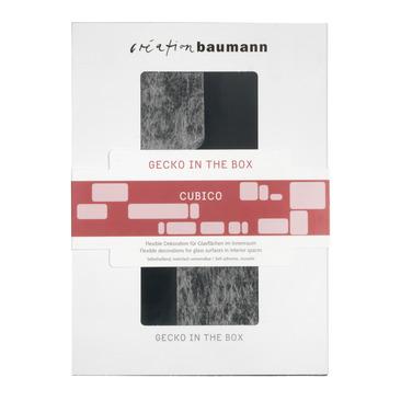 décoration pour fenêtre GECKO CUBICO WEISS