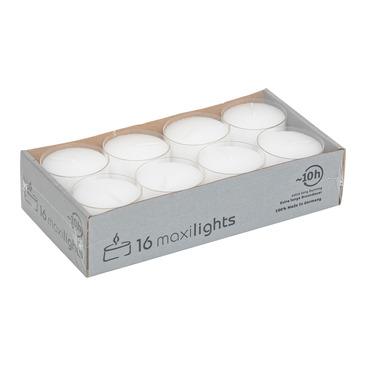 set bougies chauffe-plat MAXILIGHTS