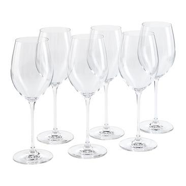 set di bicchiere da vino bianco verismo