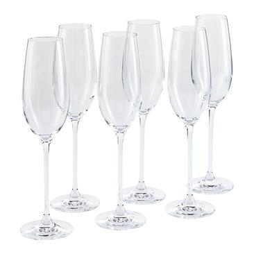 set di 2 bicchieri da spumante verismo