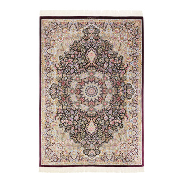 tappeti orientali classici Ghom Seide