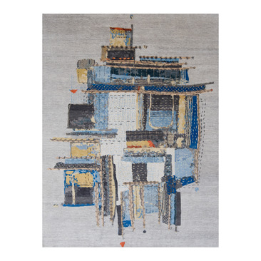 tappeti di design nepalesi/tibetani Tib. Nepal Contemporary