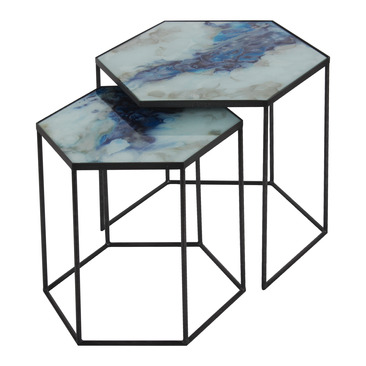 table d'appoint 7198_HEXAGON