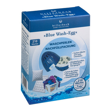 Cura per tessili BLUE WASH-EGG