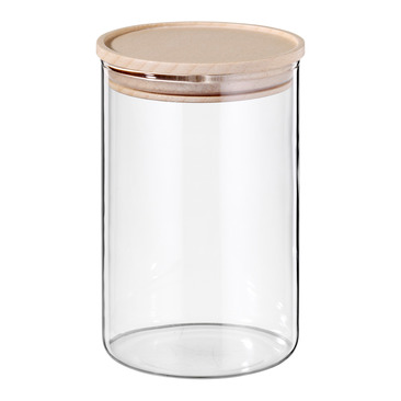 pot de stockage en verre JAR-3409
