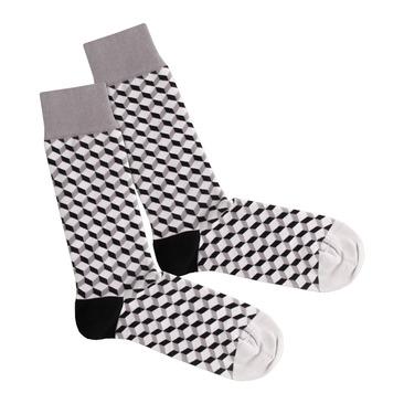 Socken Concrete Dice