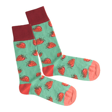 Socken Strawberry Field
