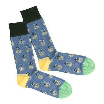 Socken Pineapple Indigo