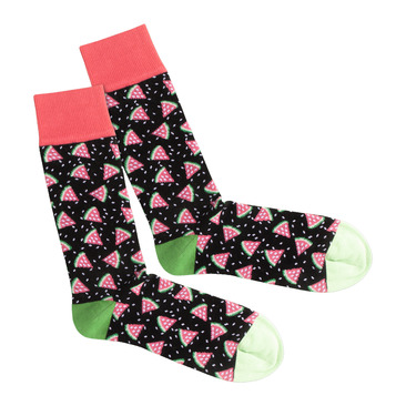 Socken Watermelon Night