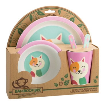 set di posate da bambino ANIMALS