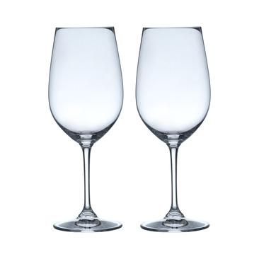 set di bicchieri da vino rosso VINUM
