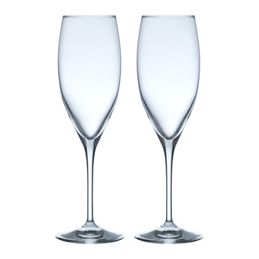 set di 2 bicchieri da spumante VINUM