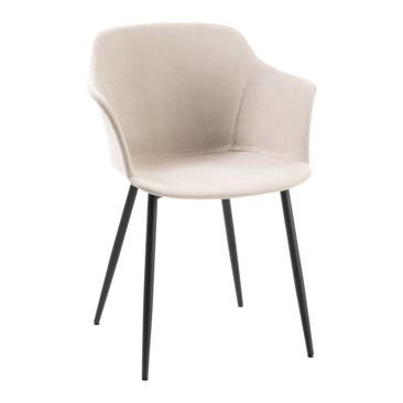 chaise à accoudoirs SERGIO