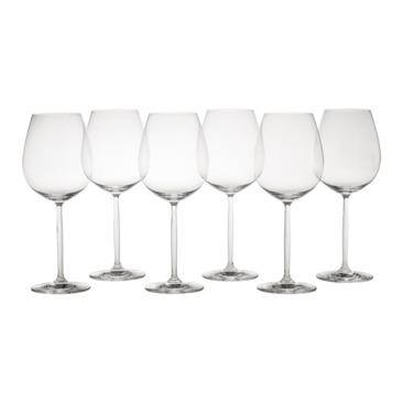 set de verres à vin rouge Diva