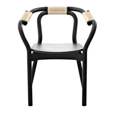 sedia con braccioli 3539_KNOT