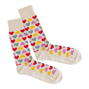 Socken COLOR OF LOVE