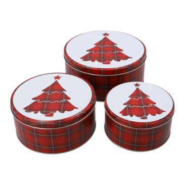 barattolo per biscotti SCOTCH CHRISTMAS