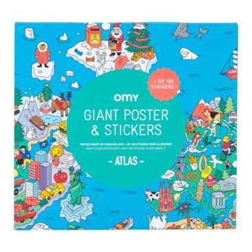 poster da colorare OMY-KIDS