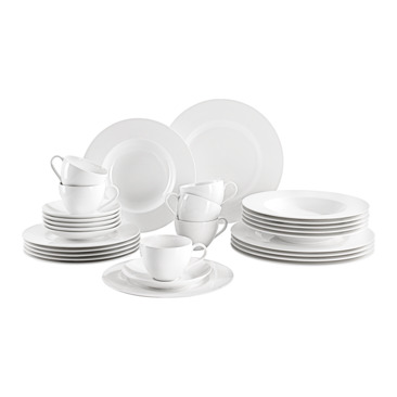 set da tavola BASIC WHITE