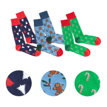 Socken SWEET CHRISTMAS