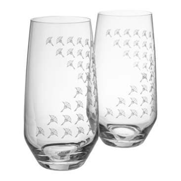 set di bicchiere da long drink DINING GLAMOUR