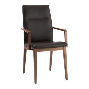sedia con braccioli EVA