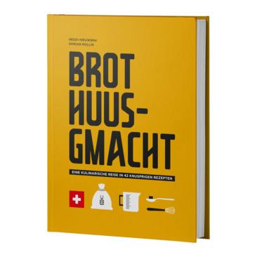 libri di cucina BROT HUUSGMACHT