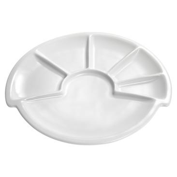 piatto per fondue fondue-teller