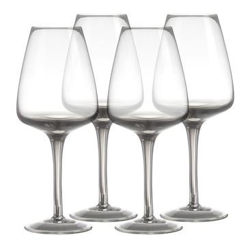 set di bicchiere da vino bianco Smoke