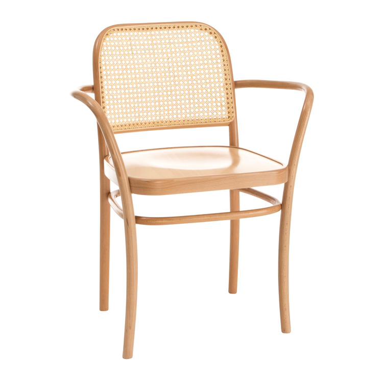 chaise à accoudoirs CAROLINA