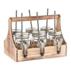 set di bicchiere RUSTIKA