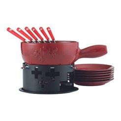 set per fondue SUISSE