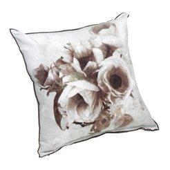 coussin décoratif DG-SEPIA FLOWER