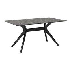 tavolo per sala da pranzo ELEMENTS BLACK