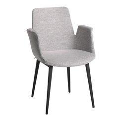 chaise à accoudoirs LORETTA