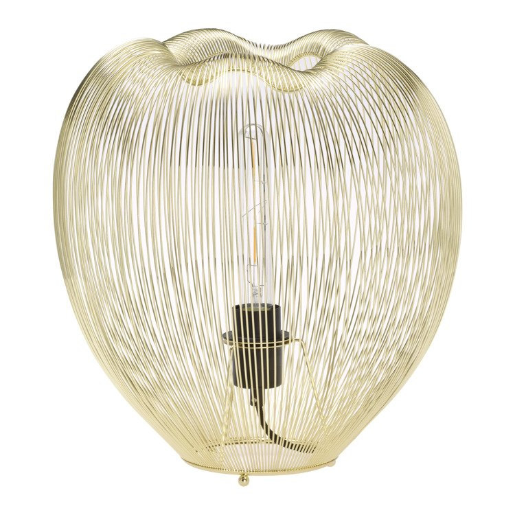 lampada da tavolo GOLDEN CAGE