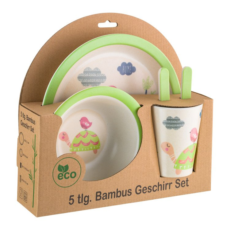 Kinder Geschirr-Set ANIMALS
