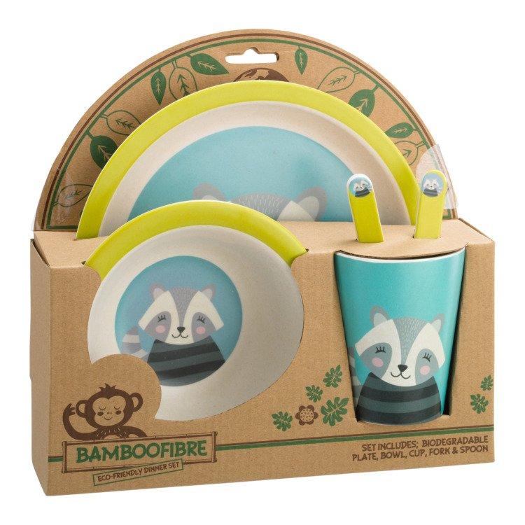 set de vaisselle pour enfants ANIMALS