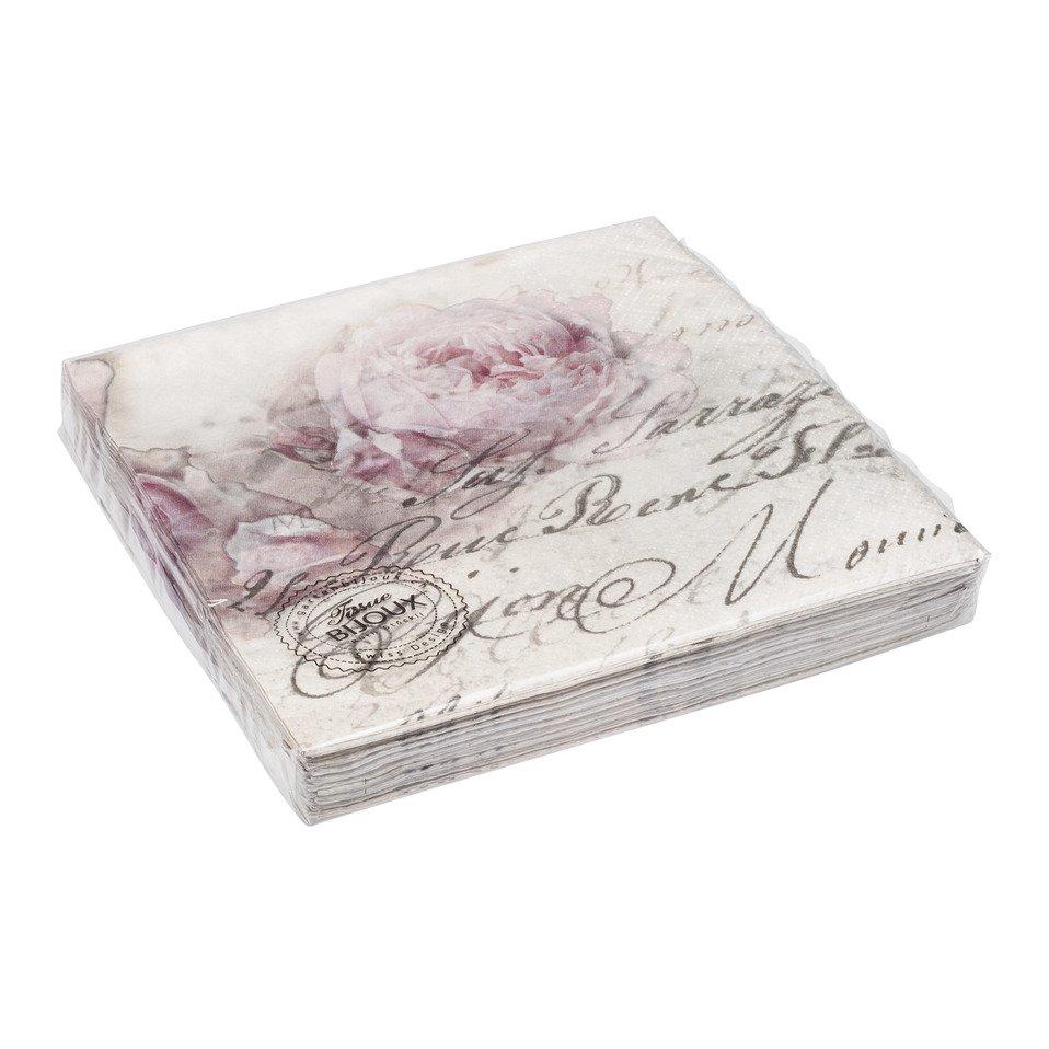 serviettes en papier ROMANTIQUE