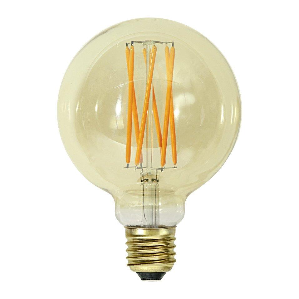 lampadina E27 LED GOLD