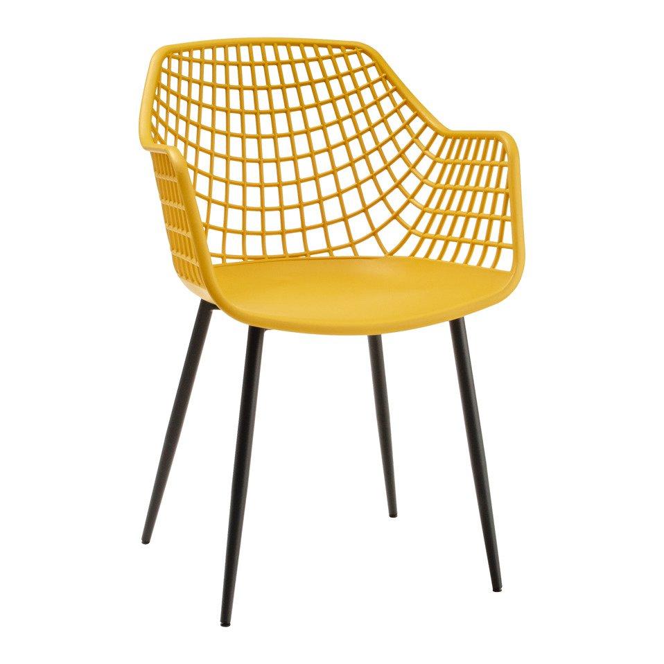chaise à accoudoirs NINO