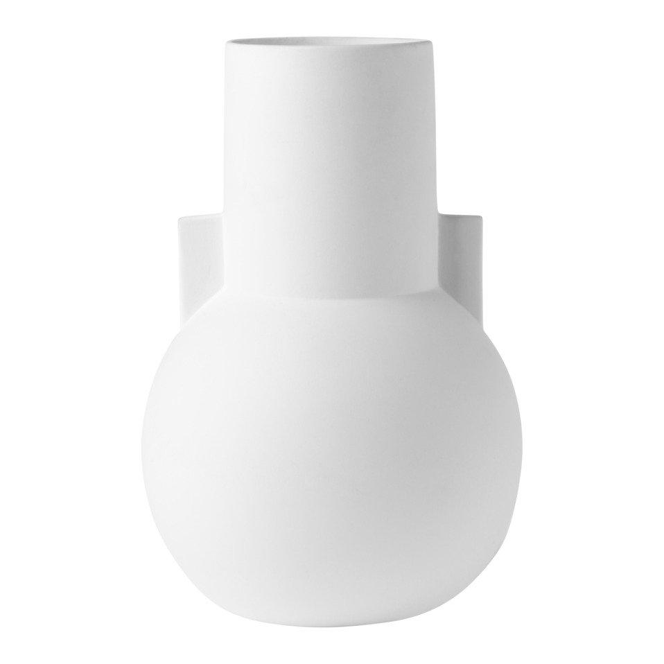 vase décoratif MATT WHITE