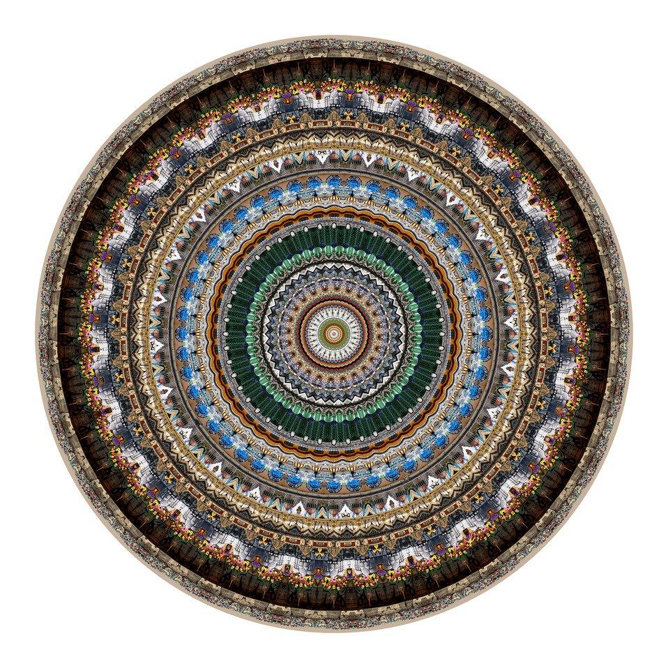 tapis tufté/tissé URBAN MANDALE