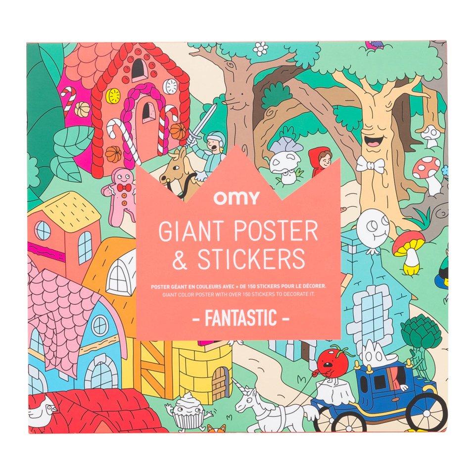 Ausmal-Poster KIDS