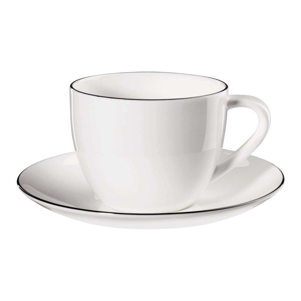 tasse à café LIGNE NOIRE