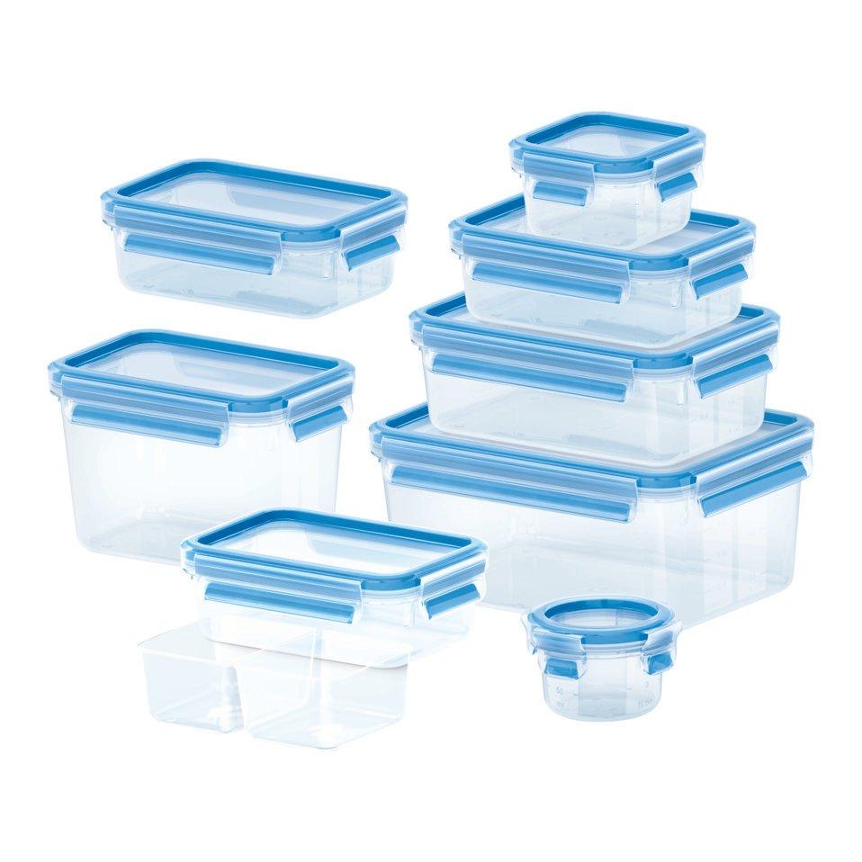 set di contenitore per alimenti CLIP&CLOSE