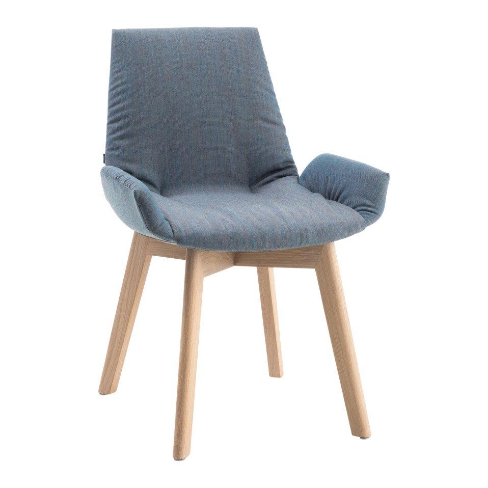 chaise à accoudoirs LUI PLUS
