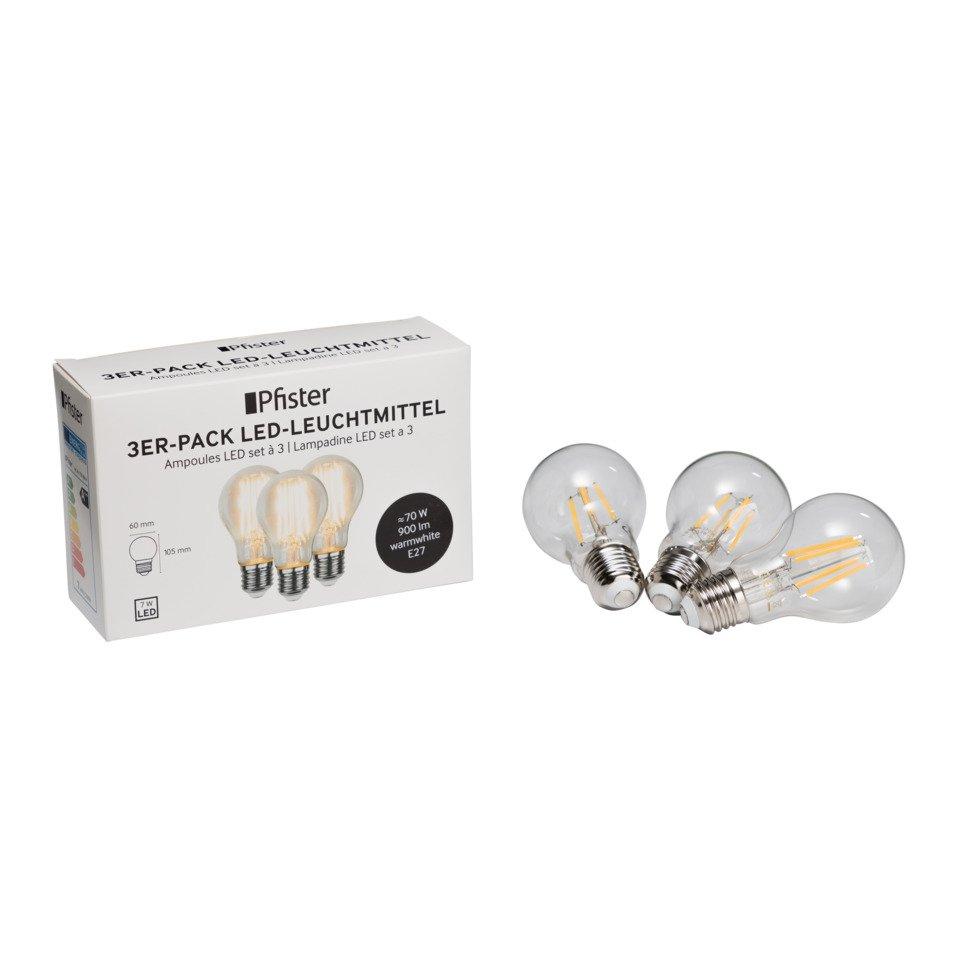 Leuchtmittel E27 LED